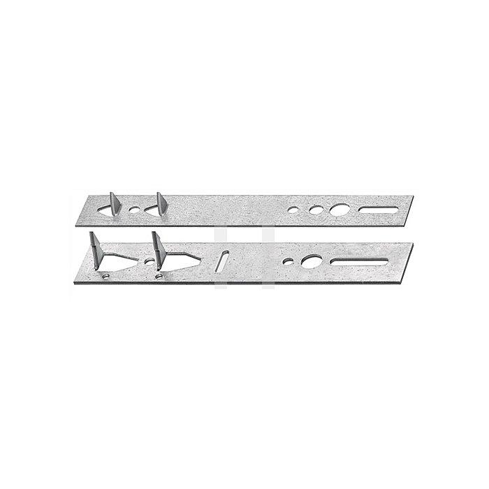 Hessenkralle Länge 140mm Breite 20mm Stärke 1,25mm leicht verzinkt