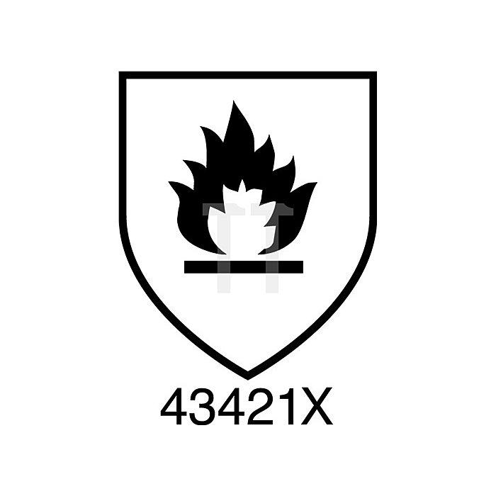 Hitzehandschuhe EN388/407 Kat.III Mercury 43-113 Gr. 10 Baumwolle/Kevlar gelb