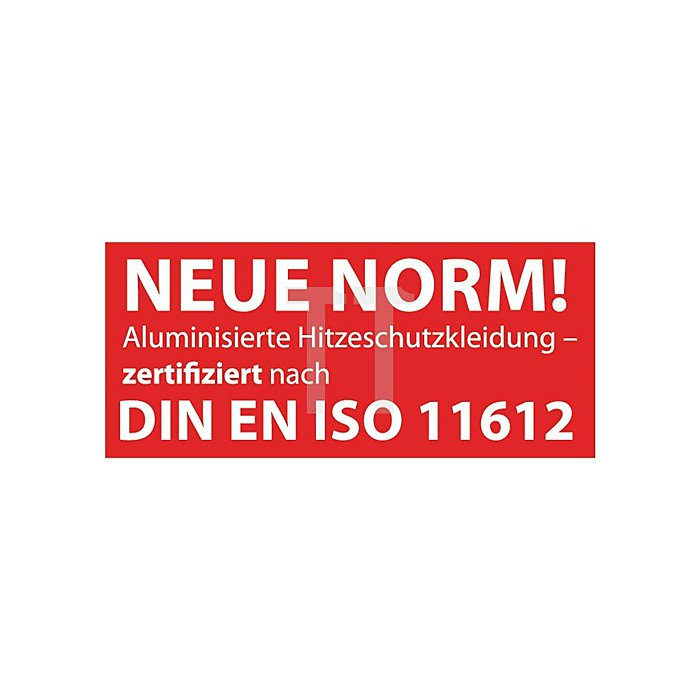 Hitzeschutzhaube b.1000Grad C Strahlungshitze Jutec o.Scheibe