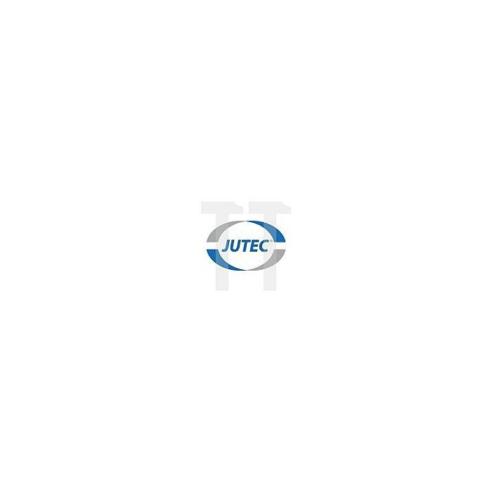 Hitzeschutzjacke Gr.52 DIN EN ISO 11612 gegen Hitze L.800mm Jutec Aramit/Alu.
