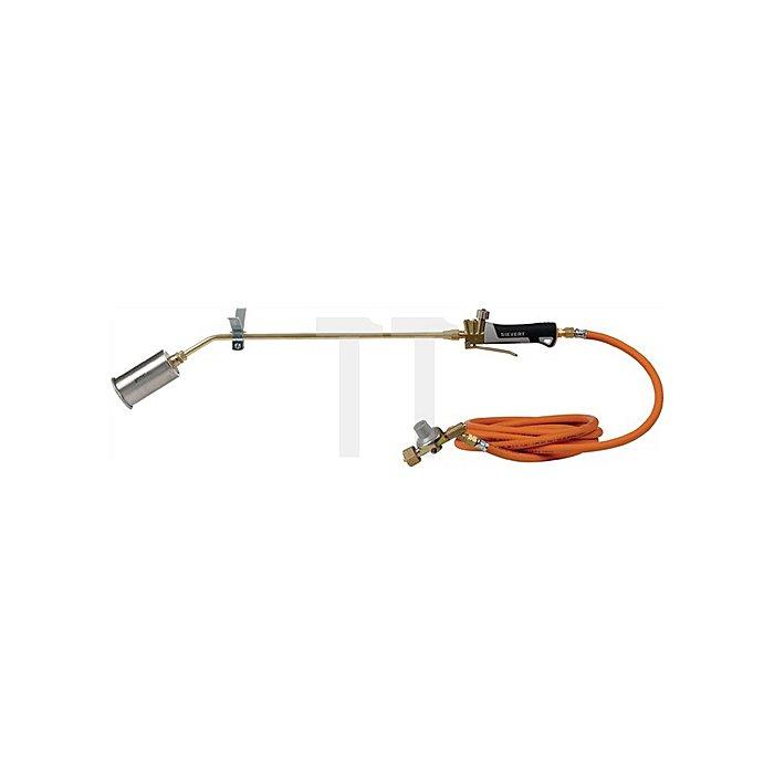 Hochleistungsbrenner Propan SET PRO 88 m. 5m Propanschlauch u. Druckregler 4bar