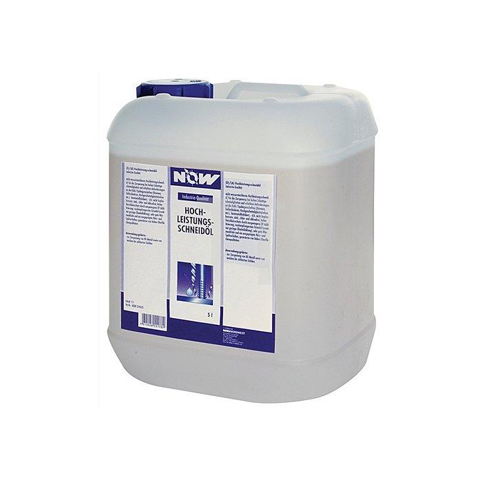 Hochleistungsschneidöl 5l zinkfrei chlor-/silikonfrei NOW gelb