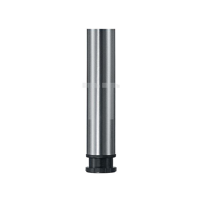 Höhenversteller T20 für Tischbeine 60mm schwarz