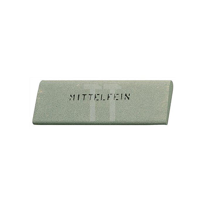 Hohlmeißelstein 150x50x16/5mm K.mittelfein Silicium-Carbid