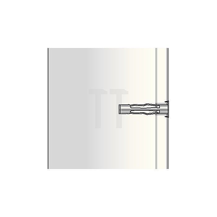 Hohlraumdübel MetallHRM 6-45