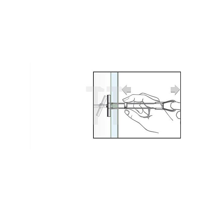 Hohraumdübel Universal BT M8 K mit Schraube M8x60 apolo MEA