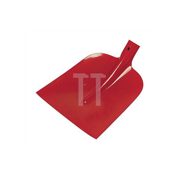 Holsteiner Schaufel DIAMANT-PIONIER, Größe 0, 3/4 gehoben, rot pulverbeschichtet