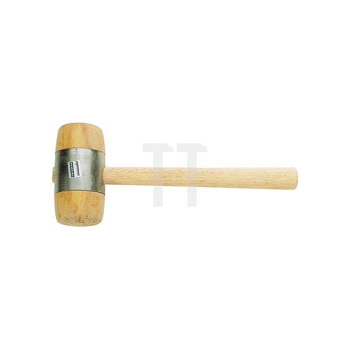Holzhammer D.90mm 1160g weissbuche Eschenstiel oval