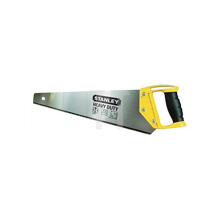 Holzsäge OPP L.550mm 8 Zähne/Inch ergonomischer Griff aus Bi-Material Stanley