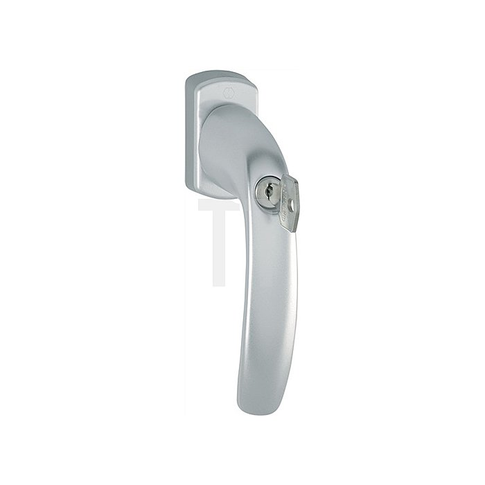 Hoppe Fenstergriff New York 0810S/U10 100NM 32mm vorstehend abschließbar F9016