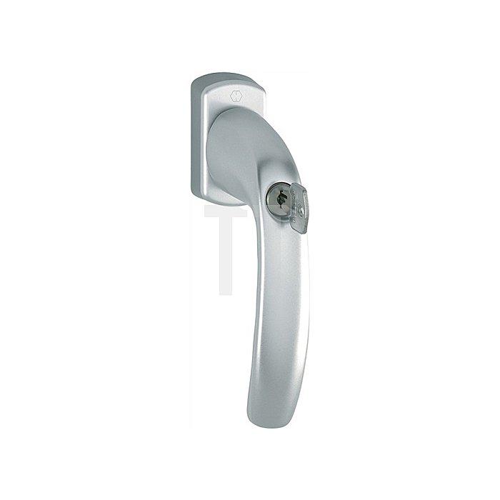 Hoppe Fenstergriff New York 0810S/U10 TBT1 32mm vorstehend abschließbar F9016