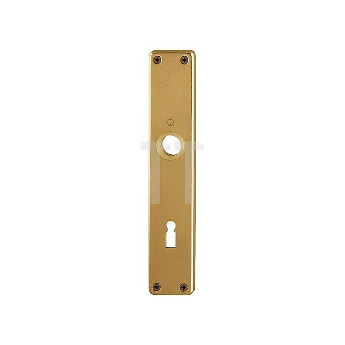 Hoppe Langschild 202SP BB Entf. 72mm L.215mm B.40mm Alu F4 bronze