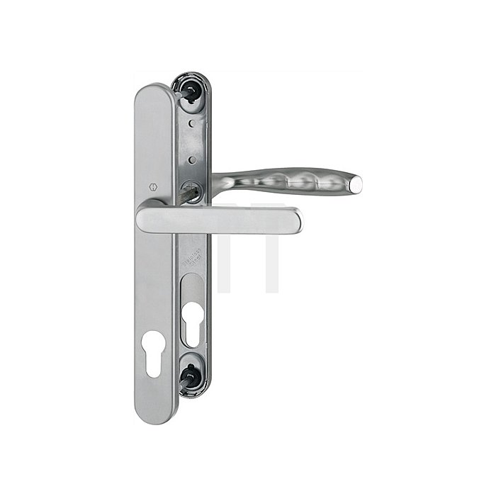 Hoppe Profiltür-Drückergrt.New York 099KH/3346/1810 Lochung PZ Entf.92mm TS 57-62mm