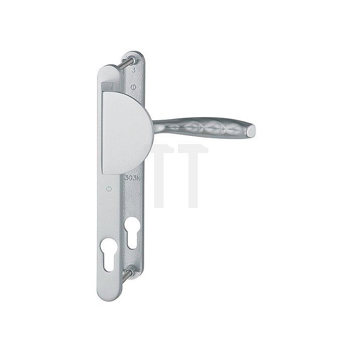 Hoppe Profiltür-Wechselgrt.New York 554/303N/1810 Lochung PZ Entf.92mm TS 67-72mm
