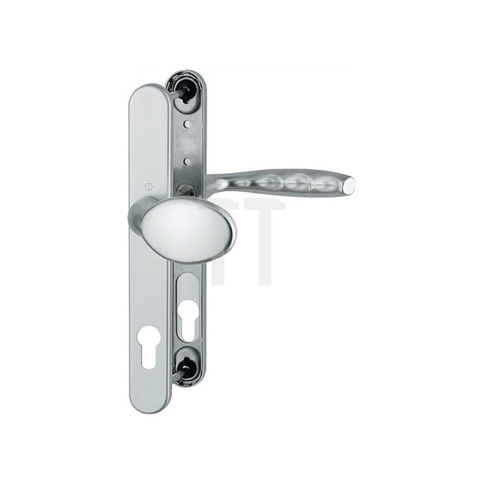 Hoppe Profiltür-Wechselgrt.New York 76G/3346/1810 Lochung PZ Entf.92mm TS 67-72mm