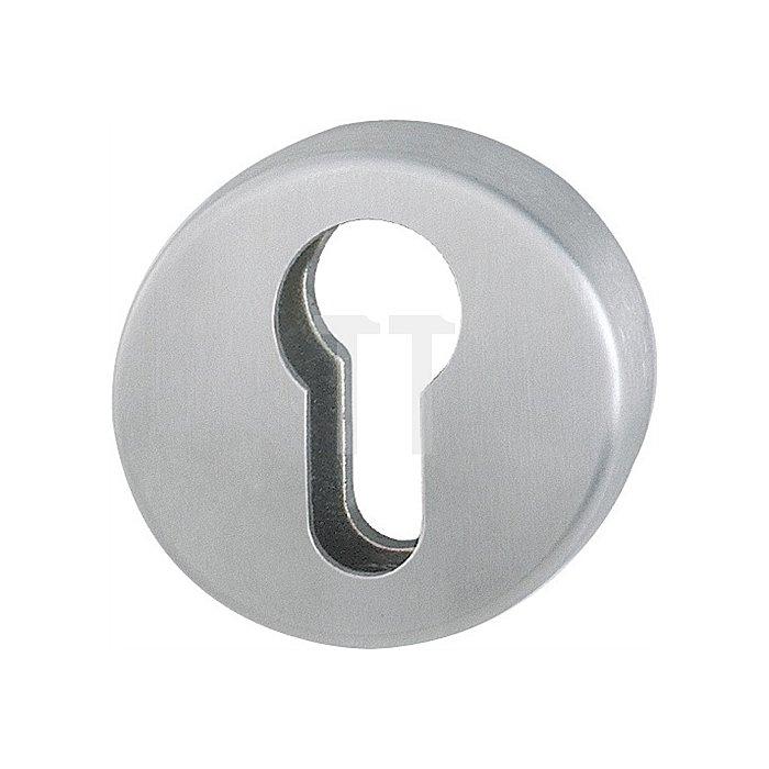 Hoppe Schlüsselrosette E19S PZ VA F69 matt 1 St. f. Innenseite