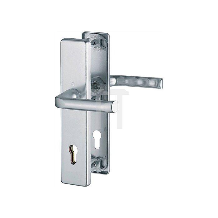 Hoppe Schutz-Drückergrt.London 54/2222A/2440/113 ES0 PZ VK10mm Entf.92mm Langschild