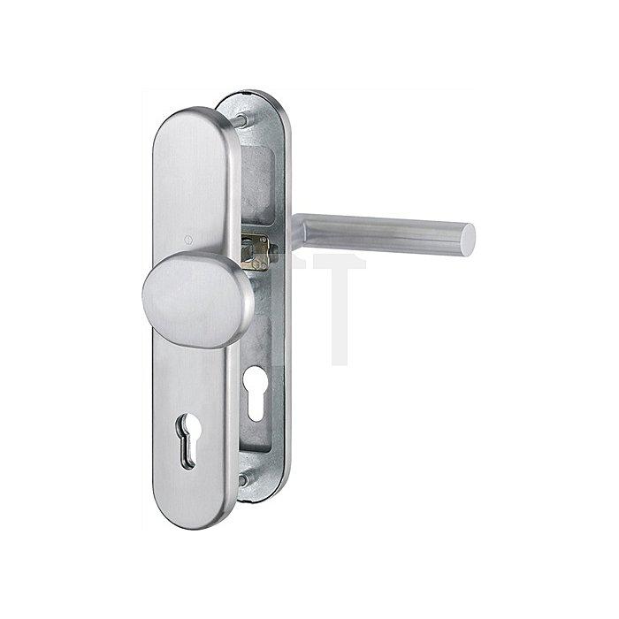 Hoppe Schutz-Wechselgarnitur Amsterdam E86G/3331/3330/1400Z PZ Entfernung 92mm