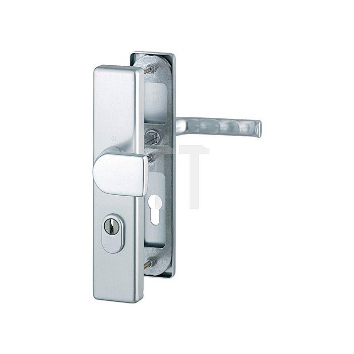Hoppe Schutz-Wechselgarnitur London 78G/2222ZA/2440/113 ES1 PZ ZA Entf. 72mm VK 8mm
