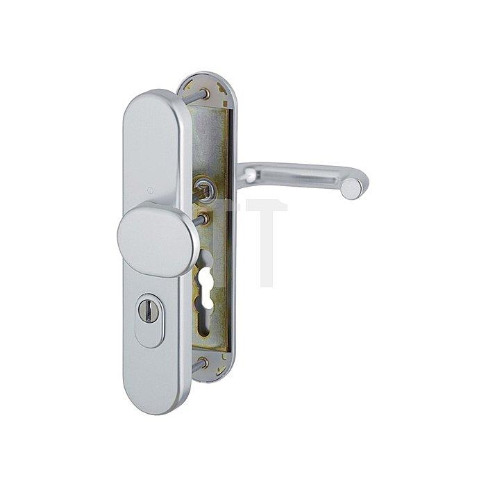 Hoppe Schutz-Wechselgarnitur Paris 86G/3331/3330/138 ES1 SK2 PZ Vierkant 8mm F77R