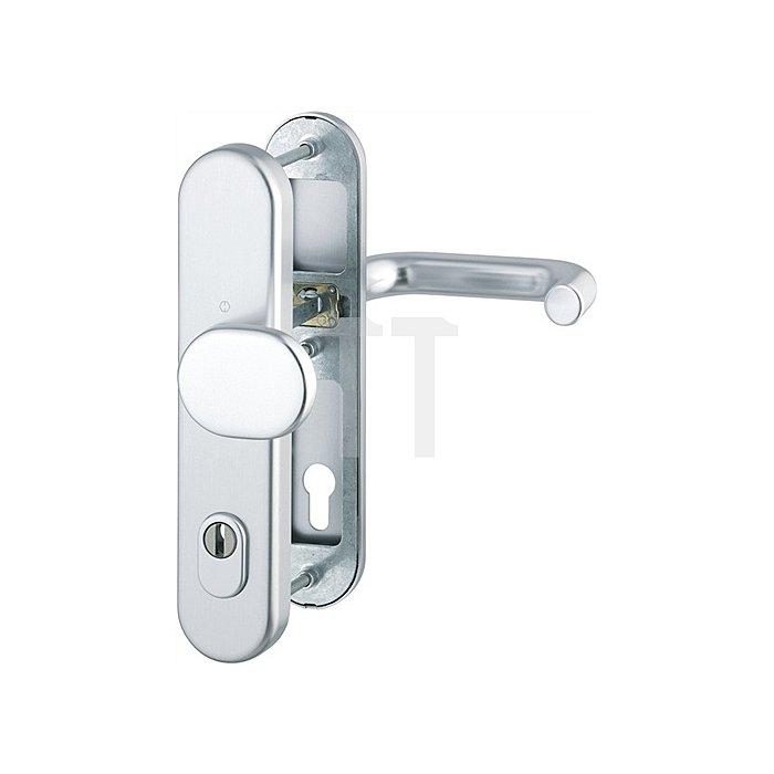 Hoppe Schutz-Wechselgarnitur Paris 86G/3331/3330/138 ES1 SK2 PZ VK 8/10mm Alu F1