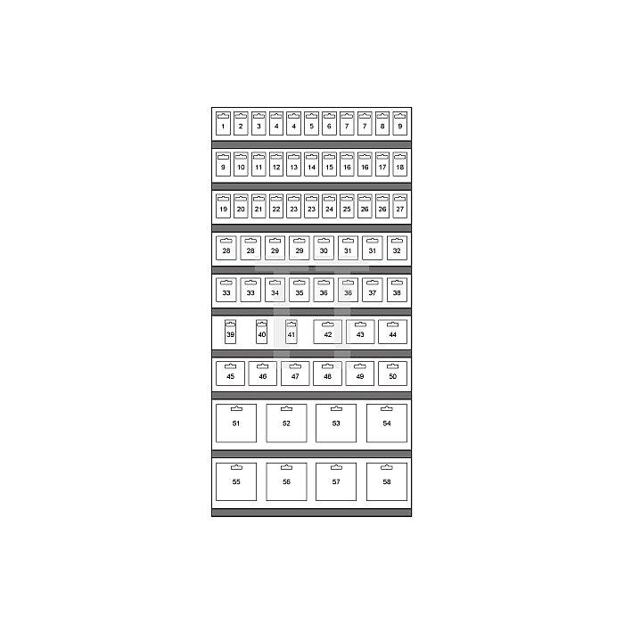 HSS-Bimetall-Lochsägen Modul in Kartonverpackung