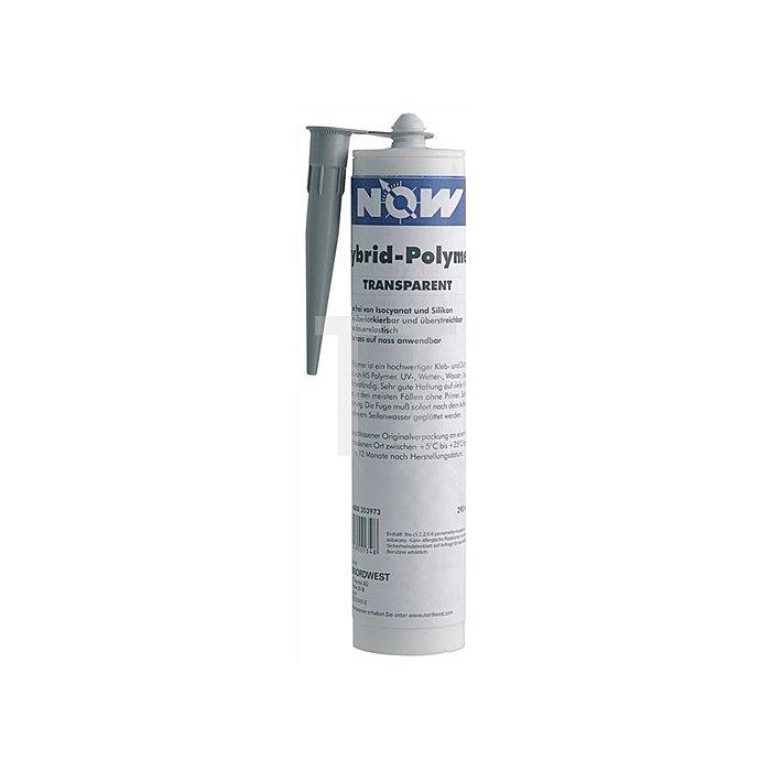 Hybrid-Polymer schwarz 290ml Kartusche pastös NOW b.+100Grad C