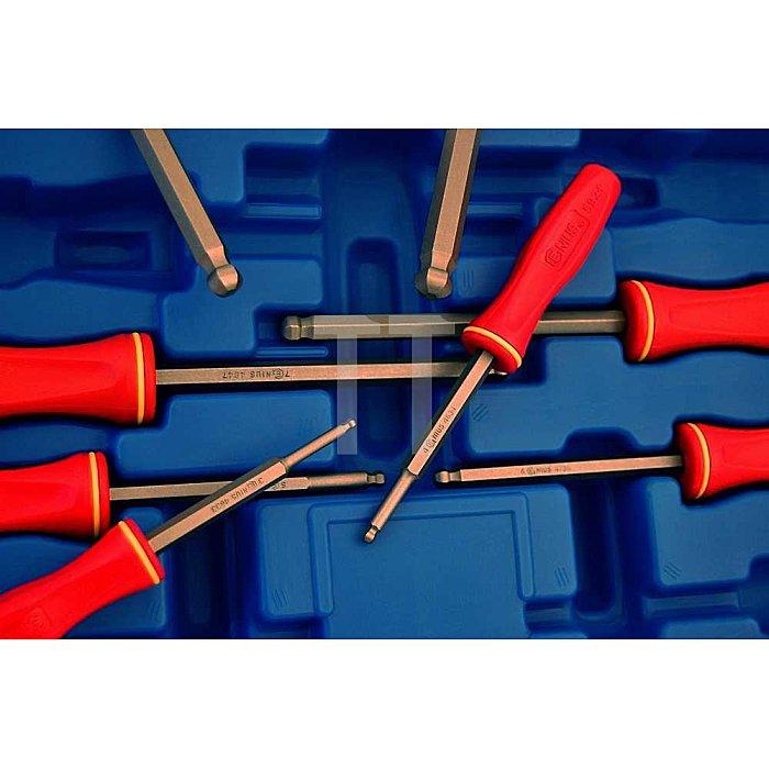 Inbuss Schraubendreher mit Kunststoffgriff 3 - 10mm metrisch 8tlg.