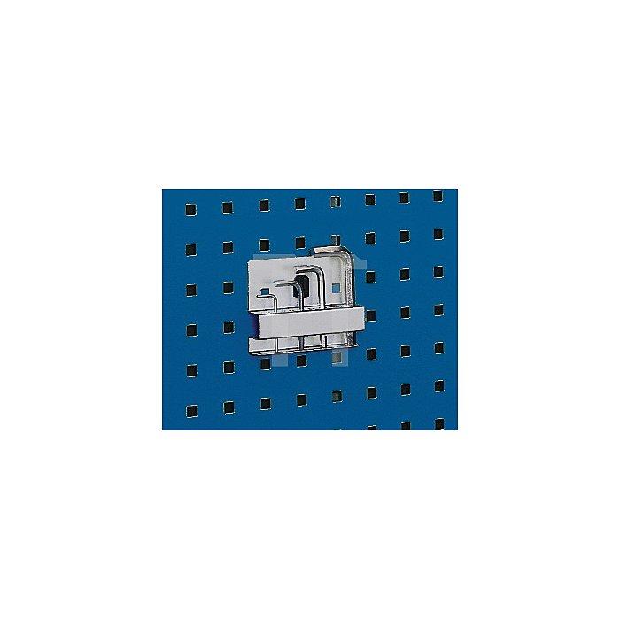 Inbussschlüsselhalter m.10 Aufnahmen B.115mm D.2-12mmf. Lochplatten Bott
