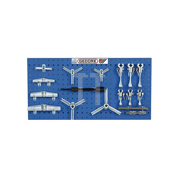 Industrie-Abzieh-Set 17tlg. Baukasten-System