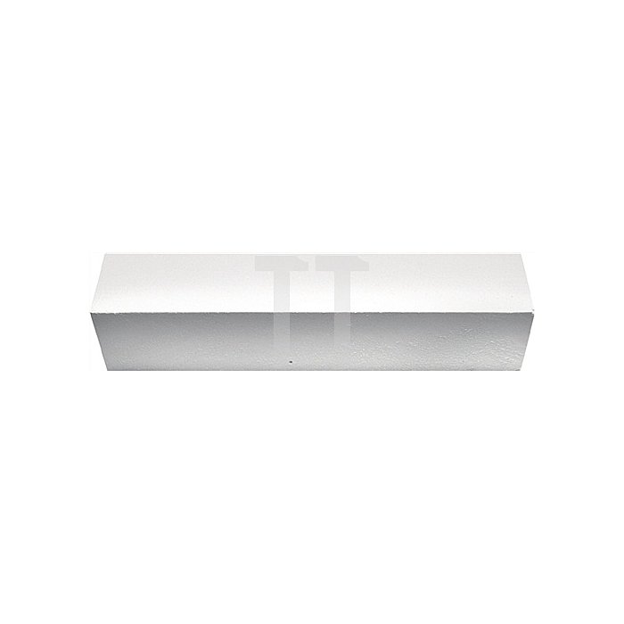 Industriekreide/Blockkreide 20x20x100mm Farbe weiss 1 Karton=100 Stück