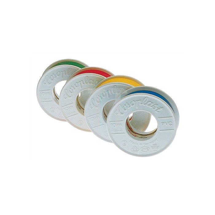 Isolierband gelb B.15mm L.10m säurebeständig COROPLAST