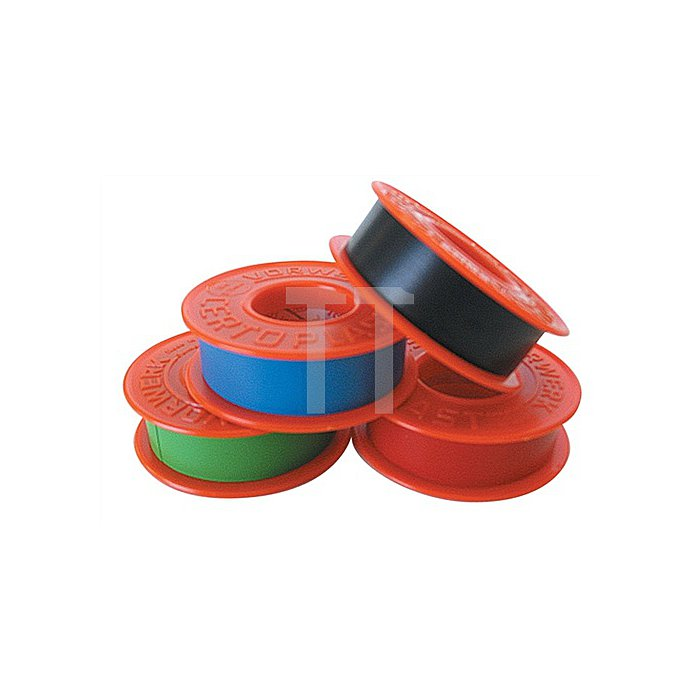 Isolierband rot L.10m B.15mm