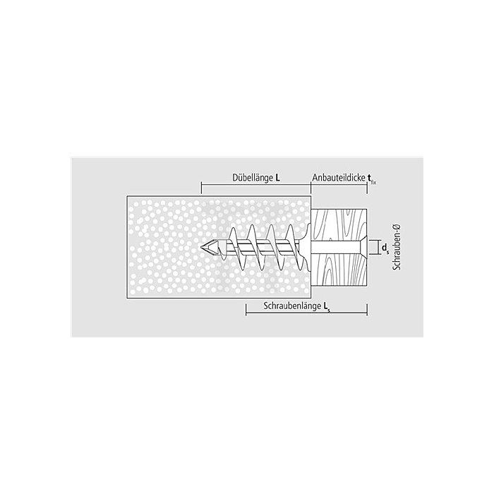 Isolierplattenduebel IPL 60 apolo MEA