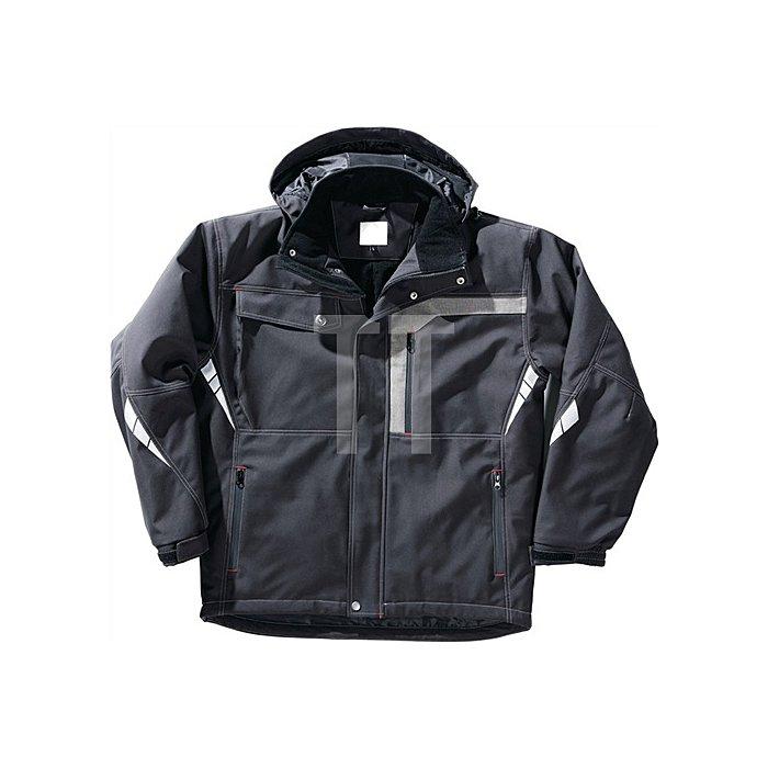 Jacke Gr.XL schwarz 100 % Polyester Twill