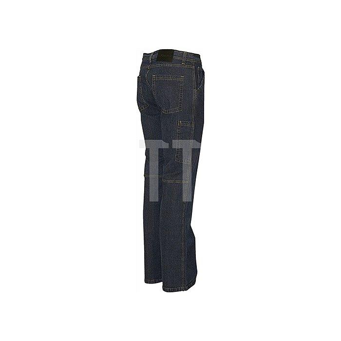 Jeans-Arbeitshose Gr.58 darkblue 100%CO 11,5 oz PIONIER strapazierfähig
