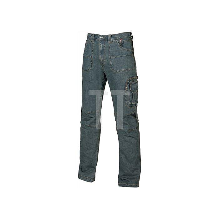 Jeans Traffic Gr.50 blau EN 340-1