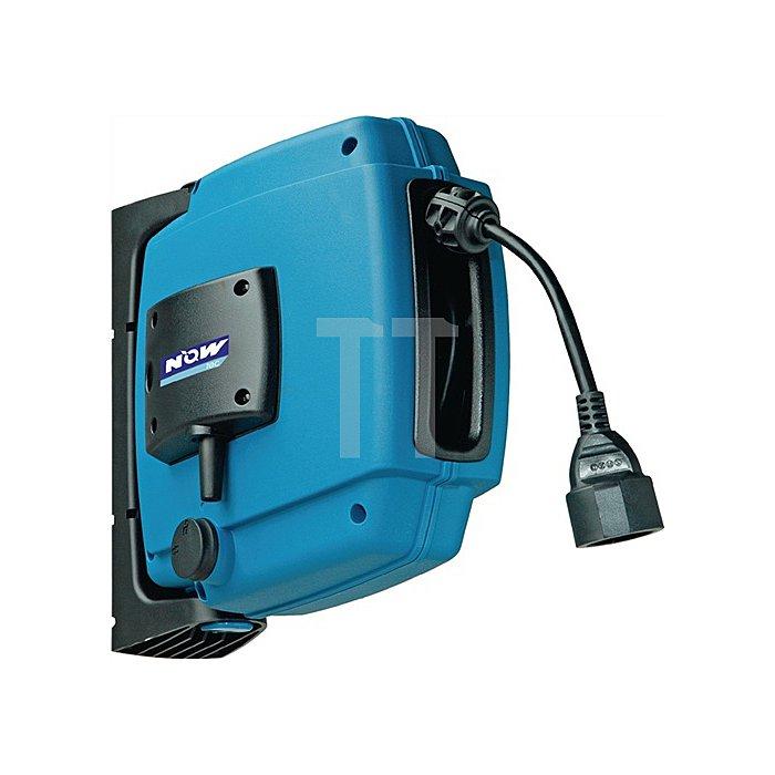 Kabelaufroller L.12m 250 H07RN-F IP55 NOW tec m.Eurokupplung