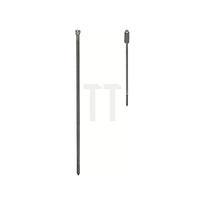 Kabelbinder 4,8x300mm a.PA transp. 100St./Btl.
