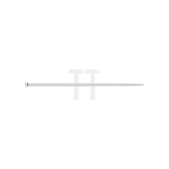Kabelbinder L.140mm B.3,5mm Bündel-D.36mm Farbe natur PA SEPI SELCO