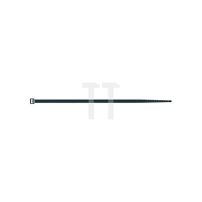 Kabelbinder PA B.2,5xL.100mm schwarz SAPI SELCO Bündel-D.24mm