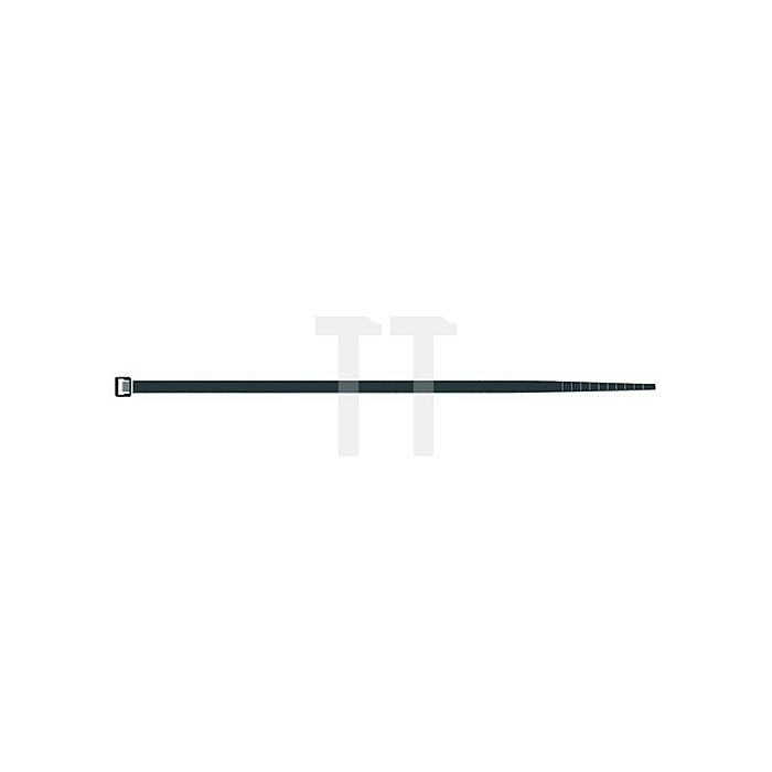Kabelbinder PA schwarz B.3,5mm L.200mm Bündel-D.55mm Sapi Selco