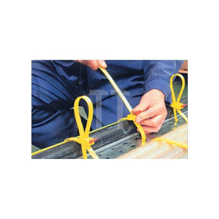 Kabelbinder SpeedyTie B.12xL.750mm gelb HELLERMANN TYTON Bündel-D.210mm