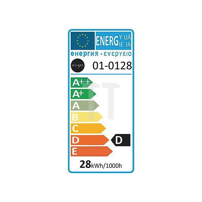 Kaltlichtspiegellampe 28W 12V GU5,3 Sockel 950cd dimmbar 20% Energieersp.