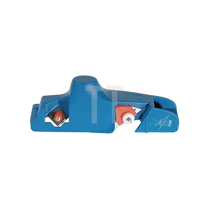 Kantenhobel L.235mm blau mit Doppelklinge