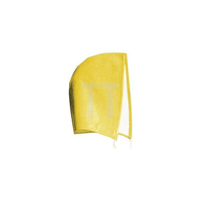 Kapuze Univ.-Gr. gelb anknöpfbar f.Winterbaujacken m.Schnurzug