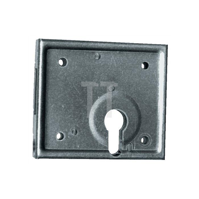Kastenriegelschloss z.Aufschrauben PZ Dorn 60mm B.100mm H.87mm T.16,5mm