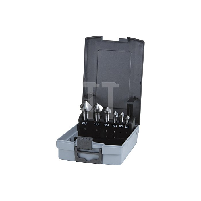 Kegel- und Entgratsenker-Satz DIN 335 Form C 90° Hartmetall K 20