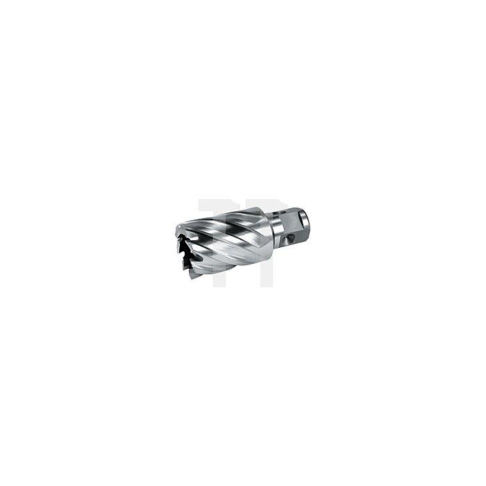 Kernbohrer HSS Co 5 ComPact mit Nitto-Schaft. Ø 21 mm