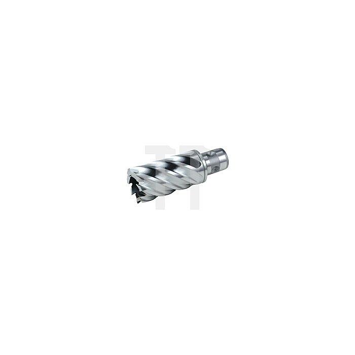 Kernbohrer HSS Co 5 ComPact mit Quick IN-Schaft. Ø 21 mm
